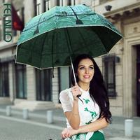 Pullo umbrella structurein princess umbrella mushroom  anti-uv sun protection umbrella folding