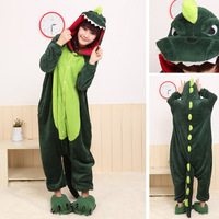Popular Cute Magic hot-selling style one piece coral fleece sleepwear lounge Pajamas Free Shipping