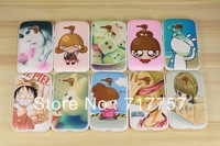 Factory Price mIxed colors 20pcs/lot fashion new cute lovely girl cartoon case cover for Sumsung 8262D