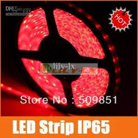 LED strip lights 3528 waterproof white led strip 60leds/m free ship warm white red green blue