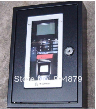 Outdoor Environment Used Biometric Fingerprint Access Control Machine Stainless Metal Box Weatherproof and Weatherproof