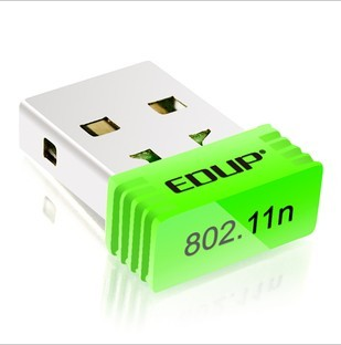 Edup 150m mini notebook usb wireless network card wifi wlan desktop receiver