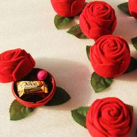 GAGA ! Free shipping 12*9*13.5(cm) rose wedding boxes ,red chocolate box  , 100 pcs/lot ,QY01