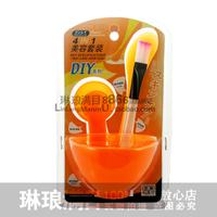 Beauty mask tools 4 set mask bowl stick measuring spoon