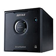 """BUFFALO HD-QL8TU3R5-AP 4"""" drive USB3.0/2.0 STORAGE WITH RAID REDUNDANCY"""