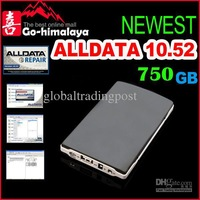 Wholesale - DHL Free shipping 2013 newest alldata 10.52 mitchell (5.8.2) and bosch esi (1,2,3,4,) 750GB HDD