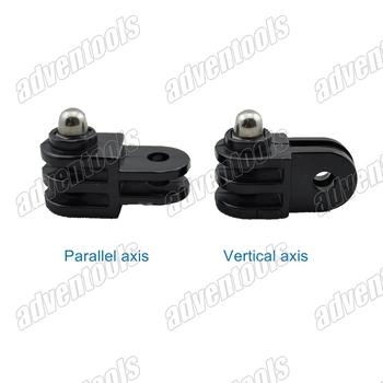 Universal Mini 2way-3way mount hinge adapter kit for gopro hero3/2 + AEE SD21/23/26 + RD31/RD32/RD36+more  sport DV