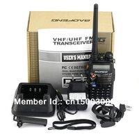 5W two way radio BAOFENG UV-5RA+ dual band dual display walkie talkie UV-5RA plus 2pcs /lot free shipping