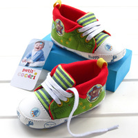 New arrival 100% lacing all-match cotton baby shoes baby toddler shoes 5114