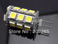 10pcs/lot 10V-30V DC/AC  12V/ 24V G4 LED light SMD 5050 24leds G4 leds 4Watt Super bright Cold white/ Warm white #1162