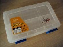 Outdoor fishing supplies fire fox mp100 fishing tool box lure box parts box plastic box(China (Mainland))