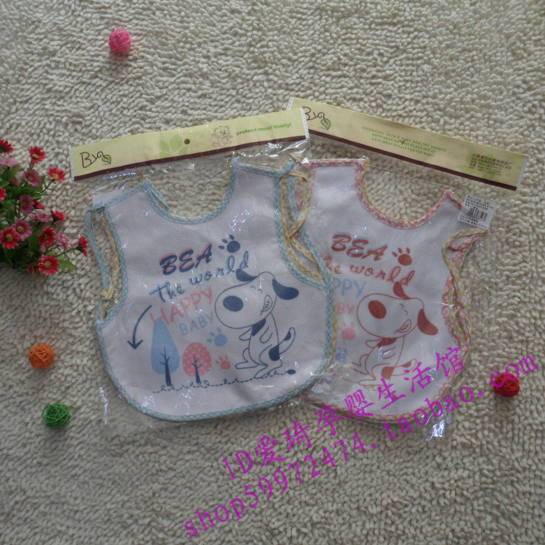 wholesale 2013 Sallei towel adhesive Large baby bib baby bib breathable membrane waterproof 2(China (Mainland))