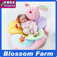 PROMOTION ! In Stock ! Free Shipping ELC  Blossom Farm Sit Me Up Cosy-Baby Seat,Baby Play Mat/Small Baby game pad - Rabbit PINK