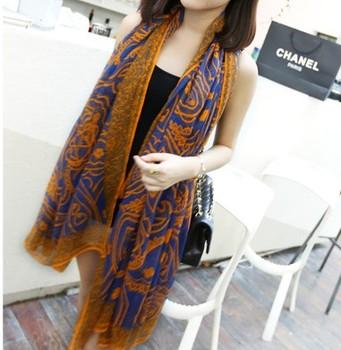 2014 Fashion Bohemia Beach Scarf Scarves For Women Cotton Lengthen Silk Scarf Pashmina Lady Summer Spring Autumn Free Shipping