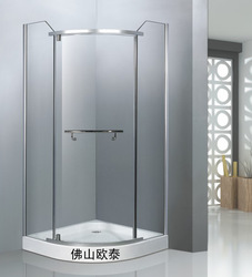 Simple shower room shower room xi zaofang glass-house the door 90cm-a1010(China (Mainland))