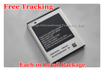 Free Tracking New Original EB494353VU Mobile Phone Battery for Samsung DoubleTime Android SGH-I857 i857 S5570 S5250 S7230