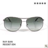 free shipping Rb3387 vintage sunglasses fashion sunglasses glass large sunglasses male sunglasses