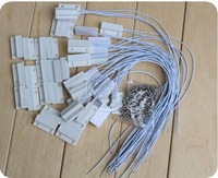 20pcs NC normally closed MC-38 MC38 Wired Door Window Sensor Magnetic Switch Home Alarm System sensors ,freeshipping