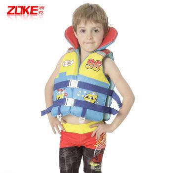 Child swimwear male big boy sunscreen life jacket surfing suit