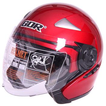 Motorcycle helmet electric bicycle motorcycle helmet double lenses