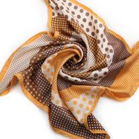 2013 spring and summer women's slanting stripe silk scarf mulberry silk small silk scarf bell
