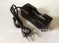 Rechargeable 18650 Li-ion Battery AC Charger EU Black Free Shipping