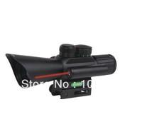 4X25 Tactical Precision Optics Mount Air Rifle Gun Scope Collimator Gunner red laser scope sight   telescope