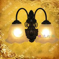 Fashion wall lamp brief rustic mirror light double slider wall lamp bed-lighting wall lamp modern lighting