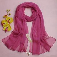 Spring and autumn silk mulberry silk scarf broadened 2013 plain new arrival female silk scarf