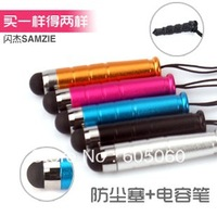 Free shipping,welcome wholesaler & retalier,For apple for iphone for ipad 4 4s mt27i i9300 bullet stylus capacitor pen