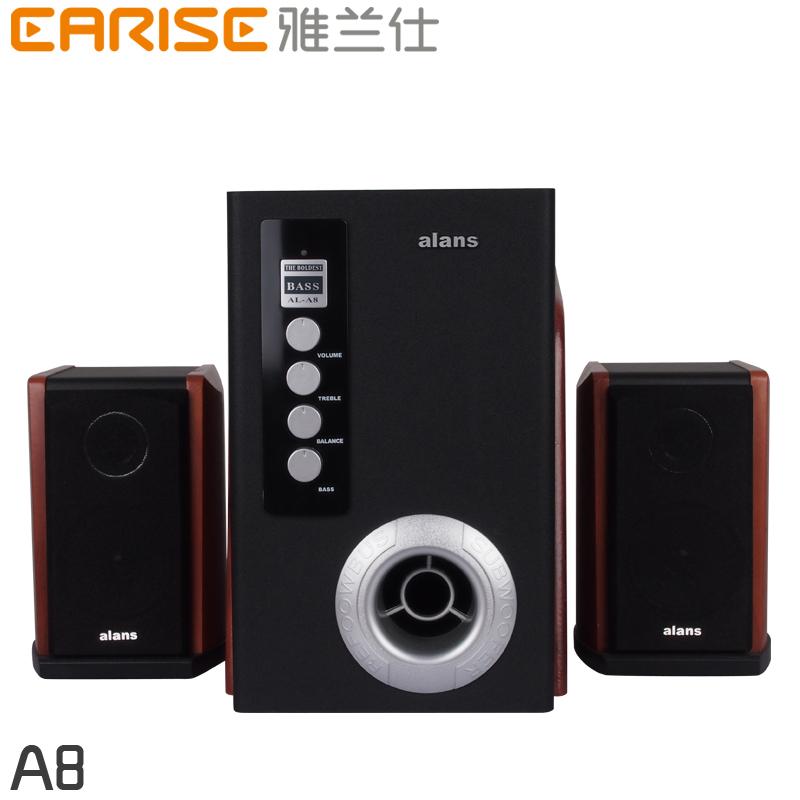 Handmade hifi audio multimedia 21 subwoofer speaker household desktop computer speakers active(China (Mainland))