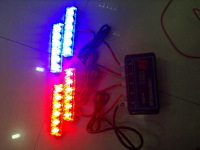 Net lights led flasher red blue two-color 6led high power