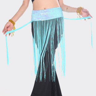 Belly dance accessories belly chain cummerbund fish scale tassel hanging ear belt belly chain y301(China (Mainland))