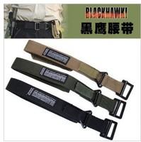 Outdoor military black hawk blackhawk tactical belt nylon material black, green, tan color size M-XL freeshipping