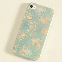 Free shipping!hot sale fashion elegant lovely New Nice Painting Flower Protective Back Case Cover Skin for Apple Iphone 4 4S 5G