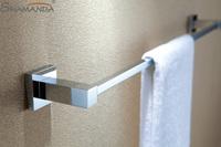 Free Shipping (60cm)Single Towel Bar/Towel Holder,Solid Brass Made,Chrome Finish, Bathroom hardware,Bathroom accessories-94008