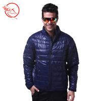Thermal thin ultra-light down coat short design outdoor ultra-light white duck down slim outerwear Men