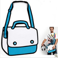 Top sell Cartoons bag 3d bag hand bags fashion bags Free shipping