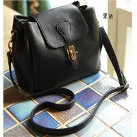 2014 small bag women's bag chain lockbutton women's handbag small bag one shoulder cross-body / bags oba