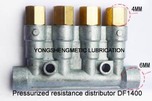 DF-1400 Pressurized resistance distributor/Grease distributor/Oil separator valve(China (Mainland))