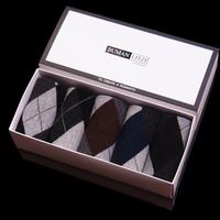 hot sell cheap men's socks knee-high male socks gift box male 100%cotton socks gift socks wholesale
