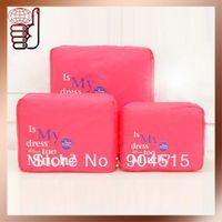 China Post Free Shipping Wholesale/Retail Hot Selling New Arrival Travel Organizer Bag in Bag Travelus Set (3 pcs/set)