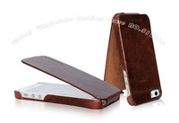 Brand New HOCO BOROFONE 100% Genuine Elegant leather case for iphone 5 5G,Top Quality 3 Styles ,Free shipping