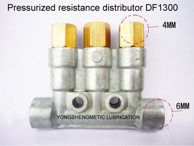 DF-1300 Pressurized resistance distributor/Grease distributor/Oil separator valve(China (Mainland))