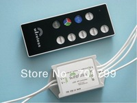 waterproof led RF RGB controller,DC12-24V input,max 5A*3 channel output