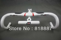 FREE SHIPPING MOst TALON Full carbon fiber/road 42X110/42X100 /44x100/44x110mm Integrated handlebar Stem white