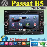 "6.5"" Car DVD player  GPS   Autoradio stereo for For volkswagen Passat B5 Passat MK5 Bora Golf + 3G internet / Free Shipping"