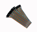 Free Shipping 80pcs dupont cable jumper wire dupont line male to female dupont line 30cm 1P 40P IN STOCK