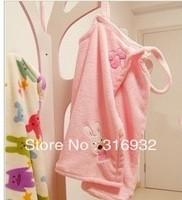 K3 Le sucre fleece bathrobe sleepwear, PINK, 1PC