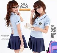 Free Shipping Sexy School Wear Japanese Cartoon Style Kill la Kill Cosplay student uniform Daily Party Costume
